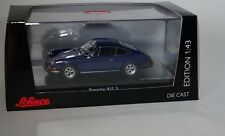 Schuco 450367500 Porsche 911S in Dark blue in 1/43 NEW