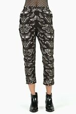Black Milk Lepidoptera Cuffed Pants XXS
