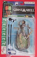 McFarlane Ghost in The Shell Major Motoko Kusanagi Action Figure unopened 2001
