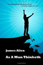 As a Man Thinketh by James Allen, (Paperback), A James Allen Book , New, Free Sh
