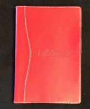 """SCALAMANDRE - Notepad 5"""" X 8"""" with Pad of Paper & Pen, Pen Holder"""