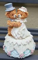 Vintage Bainbridge Bears Collection Amy & Andrew Happily Ever After Music Box