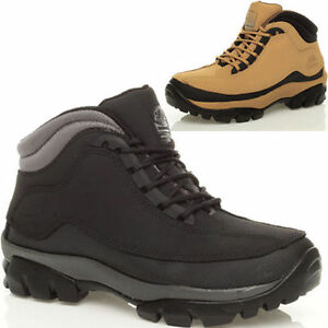 MENS LADIES LEATHER GROUNDWORK SAFETY STEEL TOE CAP ANKLE HIGH BOOT TRAINERS