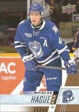 Nicolas Hague #51 - 2017-18 CHL - Base - Mississauga Steelheads