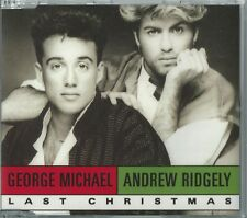 WHAM! - LAST CHRISTMAS / (PUDDING MIX) 1992 EU 2 TRACK CD SINGLE GEORGE MICHAEL