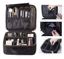 ROWNYEON Mini Makeup Train Case/Travel Makeup Case/Makeup Organizer Bag with ...