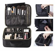 ROWNYEON Professional Makeup Train Case/Travel Hard Case/Makeup Organizer Bag