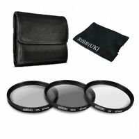67mm UV ND4 Neutral Density CPL Circular Polarizing Lens Filter Kit For Nikon
