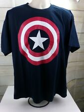 Marvel Legends Comics Captain America Shield Graphic T-shirt Men's Size