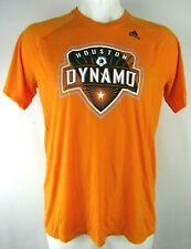 Houston Dynamo adidas Men's Orange Climalite Polyester Ultimate Tee MLS