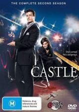 CASTLE (COMPLETE SEASON 2 DVD SET - SEALED + FREE POST)