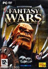 JEU PC DVD ROM../...FANTASY  WARS.../...