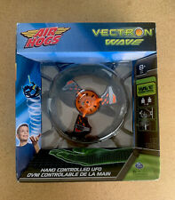 Air Hogs - VECTRON WAVE - Hand Controlled UFO   Flyer ORANGE - BLACK - NEW