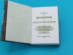 1:12 Scale Book ,A Monograph of the Hornbills,1882, Crafted by Ken Blythe