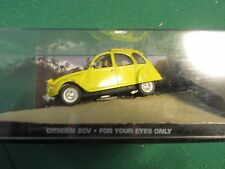 JAMES BOND CARS COLLECTION 005 CITROEN 2CV FOR YOUR EYES  ONLY