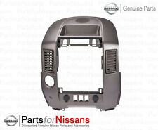 GENUINE NISSAN 2004-2006 TITAN ARMADA SE LE CENTER DASH  RADIO AC BEZEL NEW OEM