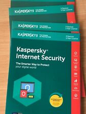 Kaspersky Internet Security 2018 1 ANNO Licenza 3 PC Nuovo ESD