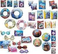 Inflatable Kids Swim Rings,Arm Bands,Goggles Swim Aid Paw Patrol,Princess,Minion