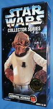 "Star Wars 1997 ADMIRAL ACKBAR 12"" Collector Series Figure Mint In Box Kenner"