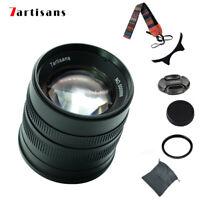 7artisans 55mm F/1.4 APS Lens For Canon EF-M EOSM Mount M1 M2 M3 M5 M6 M50 M100