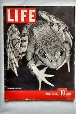 1937 Life Magazine Oldsmobile Lucky Strike Gruen Watch Advertising Pre WWII