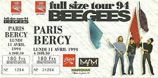 RARE / TICKET CONCERT - BEE GEES LIVE A PARIS ( FRANCE ) 1994 COMME NEUF UNUSED