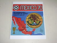 PANINI WORLD CUP MEXICO 70 - OFFICIAL ALBUM REIMPRESO 100% COMPLETE