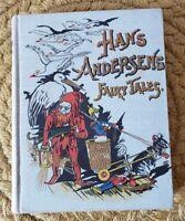 Antique HANS ANDERSEN'S FAIRY TALES HC w/colored plates DEWOLFE, FISKE & CO 1901