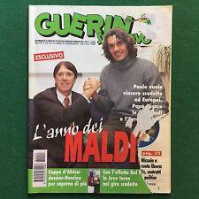 GUERIN SPORTIVO n.1-2/1996 CESARE E PAOLO MALDINI COPPA D'AFRICA DIEGO MARADONA