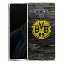 Samsung Galaxy Note 9 Silikon Hülle Case - BVB Holzoptik