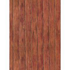 York Wallcoverings YC3413 Russet / Black Bead Board Wallpaper FREE shipping