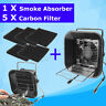 Solder Smoke Fume Absorber Remover Fume Extractor Fan Soldering Air Filter  Hot