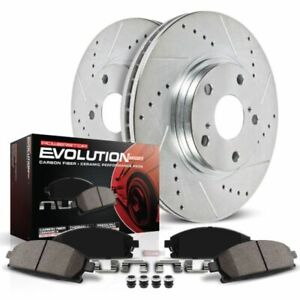 Power Stop 06-11 Honda Civic Front Z23 Evolution Sport Brake Kit