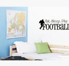 Football wall decal sticker sports boy bedroom home decor