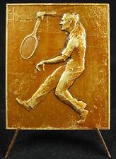 Medalla Tenis c1940 bajo l'ocupación alemana deporte metal D Baudichon medal