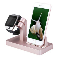 Charging Dock Stand Station Charger Holder For Apple Watch And iPhone 7/6/5 - US