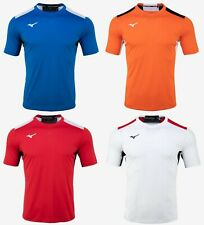 Mizuno Men Football 7 S/S T-Shirts Jersey Training Red Blue Shirt P2MA0K0262