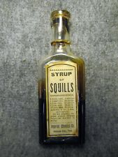 IMPERIAL SYRUP OF SQUILLS LABEL JOHNSON CITY TN TENN TENNESSEE MEDICINE BOTTLE