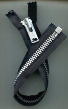 13 inch Black & Nickel #10 Separating Heavy Duty Talon Zipper New!
