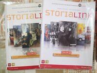 Storia Link volume 2 e 3 di A.a.v.v,  2012,  Mondadori -F