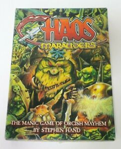 Vintage Chaos Marauders 1987's Board Game | Games | Stephen Hand