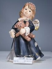 +# A007827_01 Goebel Archiv Muster Engel mit Teddy Bär Angel Bear 41-086 blau
