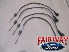 11 thru 16 Super Duty OEM Genuine Ford 6.7L Exhaust Gas Temp Sensor EGT Set of 4