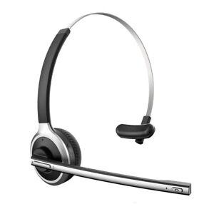 For Samsung Galaxy S8 S9 S10 S20 S21 + Ultra WIRELESS HEADPHONE BOOM MIC HEADSET