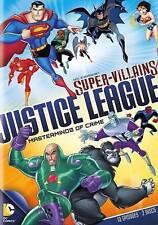 DC Comics Super-Villains: Justice League - Masterminds of Crime (DVD, 2014,...