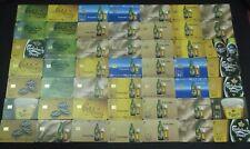 GREECE - Carlsberg & Mythos beers, complete set of 61 cards, tirage 35000, 08/01