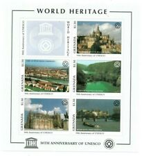 Grenada - 1997 - Unesco - Sheet Of 5 - Mnh