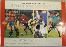 SPAIN ESPANOLA. FOOTBALL CARD COLLECTION UPPER DECK COMPANY 98 Complete Box