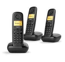 TELEFONO DECT GIGASET A170 TRIO NEGRO