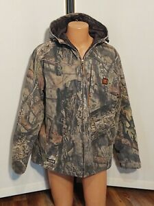 Walls Scentrex Insulated Hooded Hunting Jacket - Sz. L